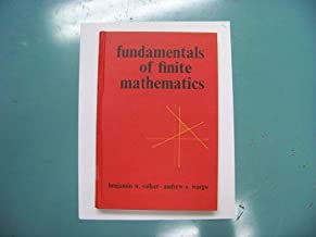 Fundamentals of finite mathematics, (Intext series in basic mathematics)