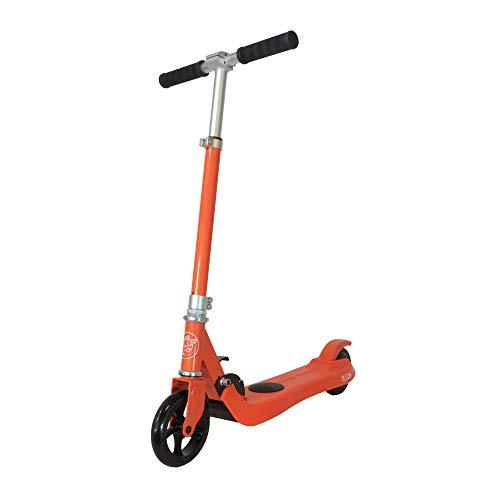 Patiente eléctrico OLSSON - Patinete eléctrico Fun Infantil Rojo. hasta 50kg de Peso, Motor híbrido 100W