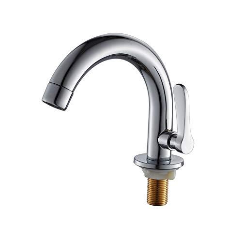 No brand WZXtaps keukenkraan badkraan keuken bassin kraan enkel frigid plafond gemonteerd roestvrijstalen basin badkraan mengkraan eenhands badkamer toepasbaar maximale houdbaarheid