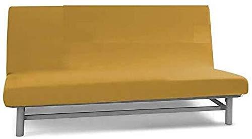 Biancaluna - Funda de sofá sin reposabrazos, 2 plazas, Queen Genius 125 a 170 cm, S070, Color Crema