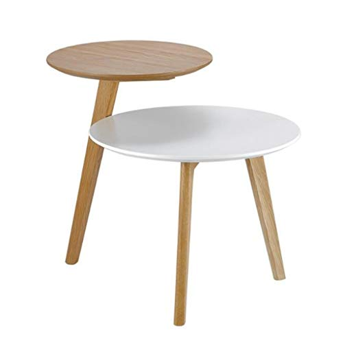 Kleine salontafel woonkamer bijzettafel bank metaal bijzettafel hoekbank salontafel standvoet industriële houten kant premium oppervlak MDF 1 exemplaar