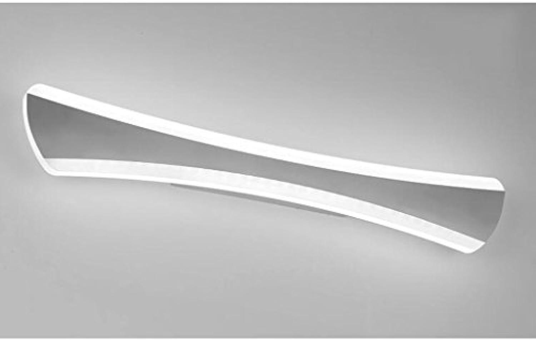 QZz Home LED-Spiegel-vordere Licht-Edelstahl-Wand-Lampe Modernes ...