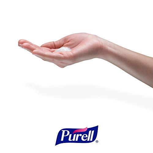 PURELL Advanced Hand Sanitizer Foam, Clean Scent, 1200 mL Hand Sanitizer Foam Refill for PURELL TFX Touch-Free Dispenser (Pack of 2) - 5392-02