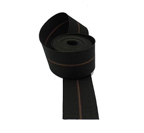 Cinchas de tapicería duras de 80 mm, calidad super extra para asientos, 6 metros