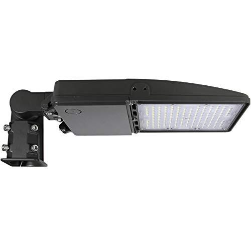 Kadision LED Parking Lot Light 150W Shoebox Pole Lights, Slip Mount Included, 19500LM Replaces 500W HID/HPS 100-277V 5000, IP65 Waterproof Outdoor Area Lighting Fixture ETL DLC Listed 5-Year Warranty