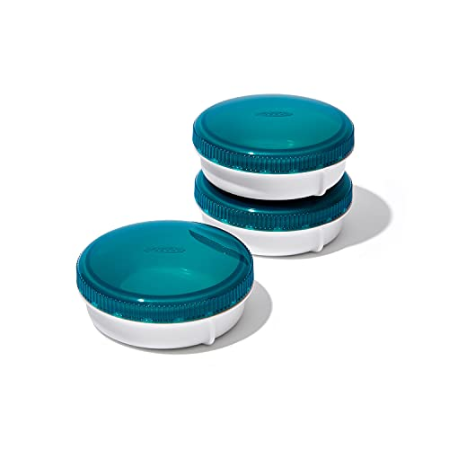 OXO Good Grips Prep & Go Leakproof Condiment Containers - 3 pack
