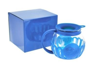 Amazing Deal Ecolution Blue 3qt Microwave Popcorn Popper in Blue Gift Box