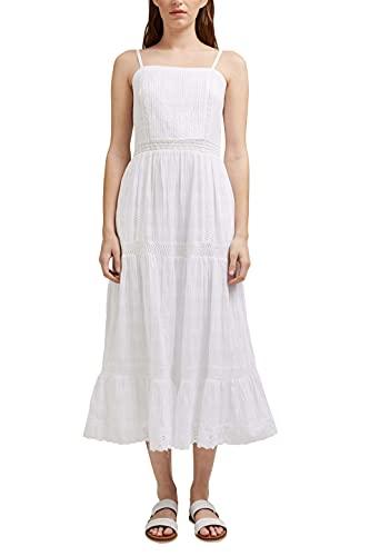 Esprit 051ee1e301 Vestido, Blanco, 44 para Mujer