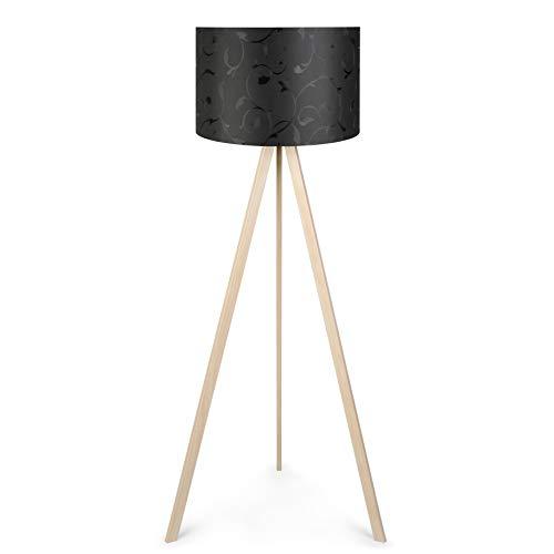 Ertex Tripod Stehlampe Stativ Aus Holz Für Das Wohnzimmer Dreibein Schlafzimmer Skandinavischer...