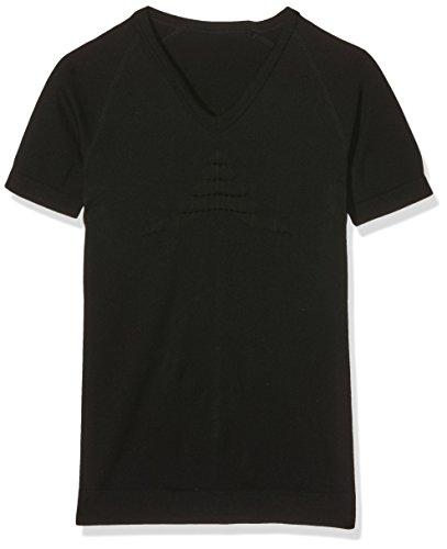 X-Bionic Adultes Fonction Habillement on Energizer Summer Light Tone UW SH SL T-Shirt à col en V L/XL Multicolore - Noir