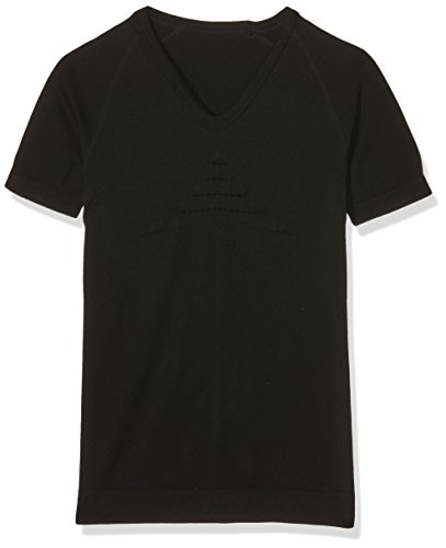 X-Bionic Erwachsene Funktionsbekleidung Man Energizer Summerlight Tone UW Shirt SH SL V Neck T, Negro, 42-44