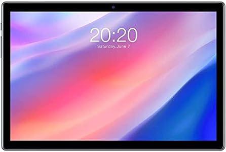 TECLAST P20HD Tablet PC 10.1 Pulgadas, 4GB RAM 64GB ROM, Octa-Core 1.6 GHz, Android 10.0 Tableta, 4G LTE GPS, 1920×1080 FHD IPS Display, AI Bluetooth 5.0 WiFi, SIM/Extensión TF (128GB) 6000mAh