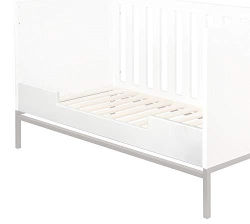 QU-AX Barrière de lit bébé Havana 70x140