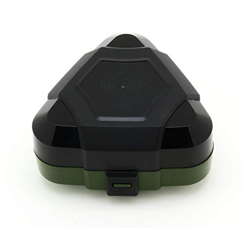 OSK弁当箱ダークグリーン230mlTOUGH!MESHIおにぎりケース日本製LS-35