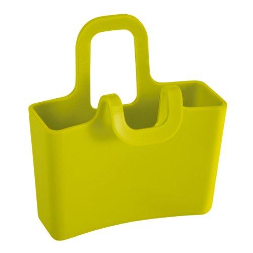 koziol Tassenutensilo Lilli, 2er-Set, Kunststoff, senfgrün, 3 x 6.2 x 6.6 cm