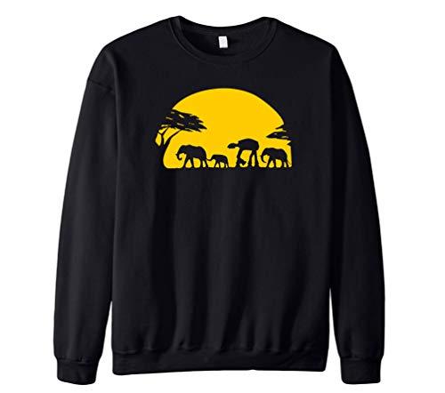 WanYangg Cuello Redond Sudadera para Hombre Crewneck Creativo Estampadas Casual Suelto Pullover Sweatshirt Caballería De Tormenta Camisa De Manga Larga Sudaderas De Juventud