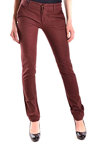 Daniele Alessandrini Luxury Fashion Womens Jeans Spring Red