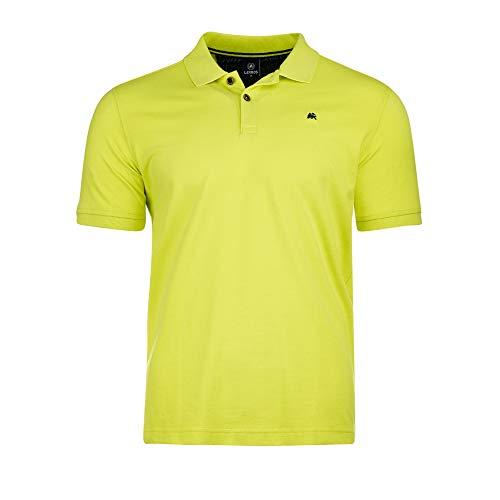 LERROS Herren Polo BTN. Pique Poloshirt, Grün (WILD Lime 510), X-Large (Herstellergröße:XL)
