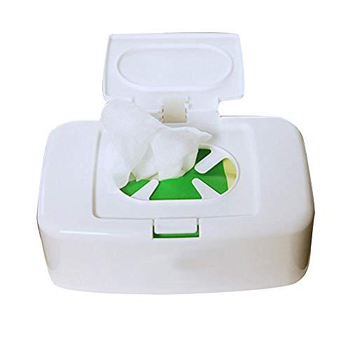 courti Wipes Dispenser, Tissue Aufbewahrungsbox Wipes Serviettenetui Wet Wipes Dispenser Halter Behälter Für Waschtische/Arbeitsplatten/Schreibtisch/Büro/Wohnheim, Hält Die Tücher Frisch