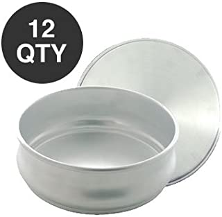 12 STACKABLE PIZZA DOUGH PROOFING PAN 48 OZ - WHOLESALE