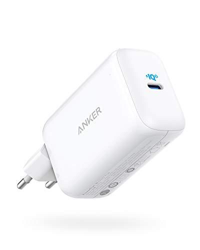 Anker PowerPort III Pod 65W PIQ 3.0 PPS - Cargador Tipo C para MacBook, DELL XPS 13, Galaxy S20/S10, Note 10+/10, iPhone 11/Pro/XR/XS/X, iPad Pro, Pixel y más