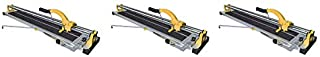 QEP 10630Q 24-Inch Manual Tile Cutter with Tungsten Carbide Scoring Wheel for Porcelain and Ceramic Tiles (3-(Pack))