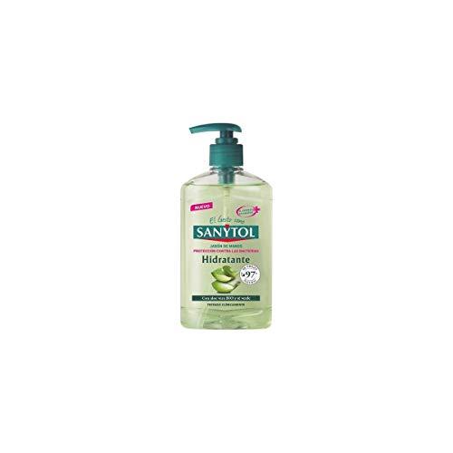 Sanytol - Jabón de Manos Hidratante Antibacteriano, con Alo