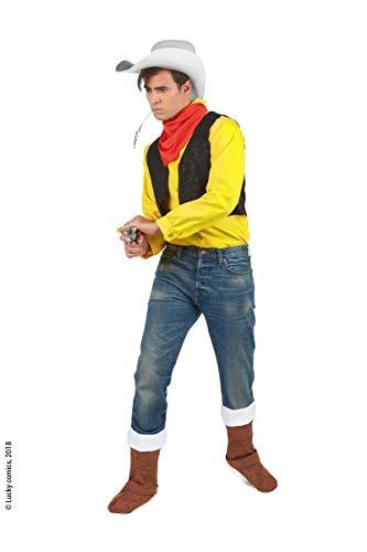 DEGUISE TOI – Kostüm Lucky Luke Erwachsene – XXL