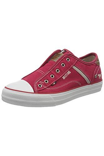 MUSTANG Damen 1272-401 Slip On Sneaker, Rot (rot 5_Rot), 38 EU