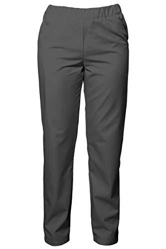 DINOZAVR Barisa Pantalone Sanitario con Elastico in Vita - Grigio Scuro 2XL