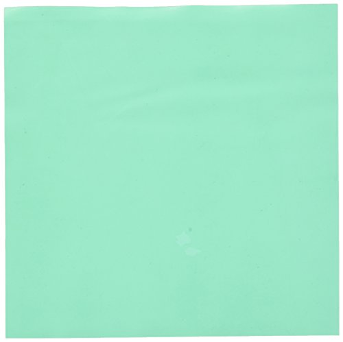 Crosstex 19202 Dental Dam, Latex, Mint Flavor, Thin Gauge, 5