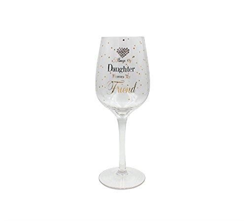 Lesser & Pavey Mad Dots Tochter Wein Glas, Gold