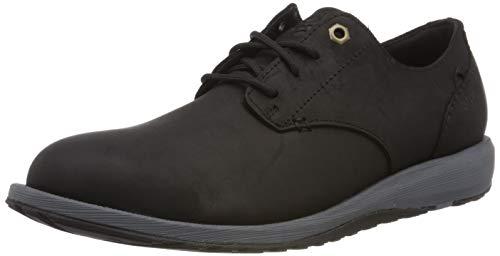 Columbia Grixsen WP, Zapatos de Cordones Oxford para Hombre, Negro (Black,...