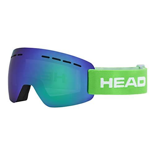 HEAD Unisex– Erwachsene SOLAR Skibrille, FMR grün, L