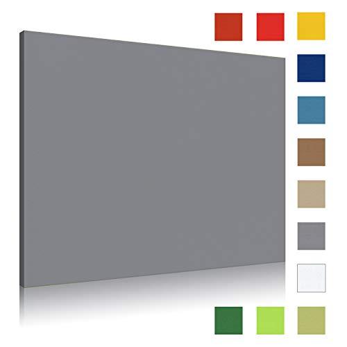 Akustikbild AbsorPic Stoff Farbe Grau | Premium Schall Absorber verbessert die Raumakustik | Viele Größen und Farben | 50 x 50 x 3cm | Made in GERMANY, Köln