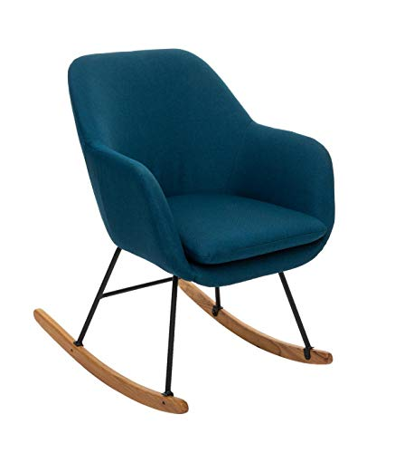 Atmosphera Rocking Chair Pera Bleu Canard