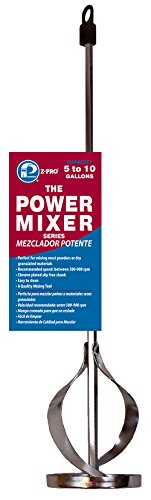 "Premier Paint Roller PM72532 5-10 Gallon Power, 17"" Shaft, 3-1/4"" Mixer, Inch"