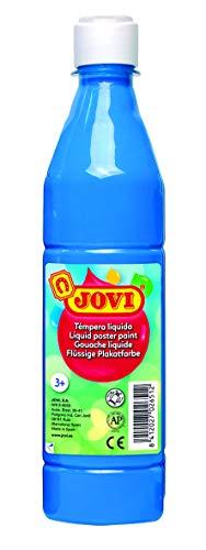 Jovi- Témpera líquida, Color azul cyan, 500 mililitros (21)