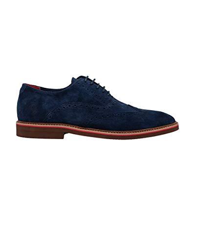 El Ganso Zapato Oxford Ante Marino