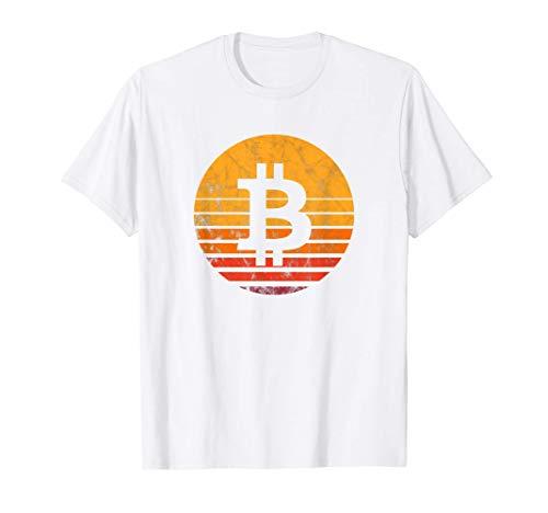 Bitcoin Vintage Sunset T-Shirt