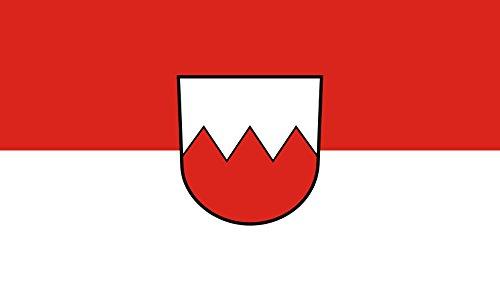 Unbekannt magFlags Tisch-Fahne/Tisch-Flagge: Zimmern unter der Burg 15x25cm inkl. Tisch-Ständer
