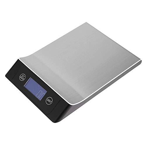 5 kg / 10 kg / 15 kg-1 g Elektronische digitale Küche Gewichtswaage Edelstahl-Lebensmittelwaagezum Kochen Backen kg/tl/lb/oz/g/ml -5 kg-1 g