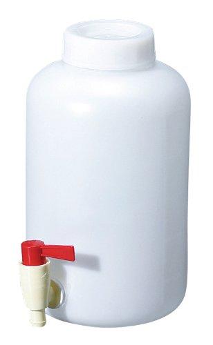 新潟精機 BeHAUS 広口コック付ボトル 中栓付 5L HBW-C5L
