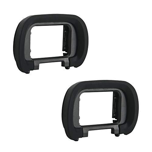 JJC Ocular de silicona suave para cámara Sony Alpha A7SIII de marco completo sin espejo sustituye a Sony FDA-EP19 (2 unidades por paquete)