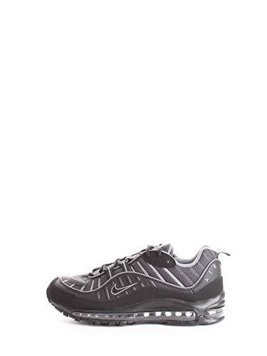 Nike AIR Max 98, Chaussure de Trail Running Mixte Adulte, Noir Gris, 42.5 EU