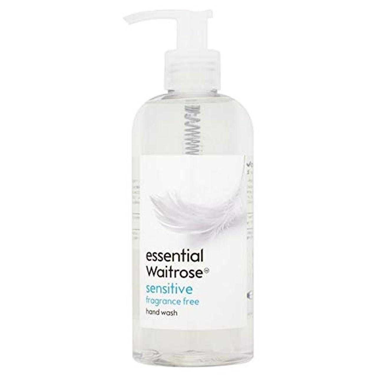 カストディアン狂人センサー[Waitrose ] 基本的なウェイトローズのハンドウォッシュ敏感な300ミリリットル - Essential Waitrose Hand Wash Sensitive 300ml [並行輸入品]