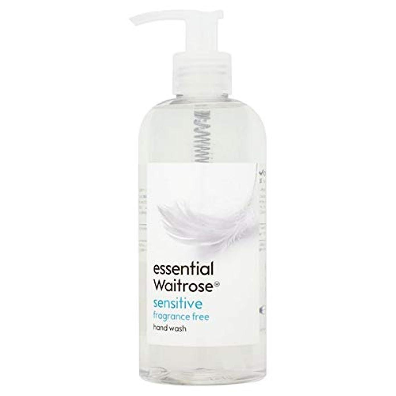 [Waitrose ] 基本的なウェイトローズのハンドウォッシュ敏感な300ミリリットル - Essential Waitrose Hand Wash Sensitive 300ml [並行輸入品]