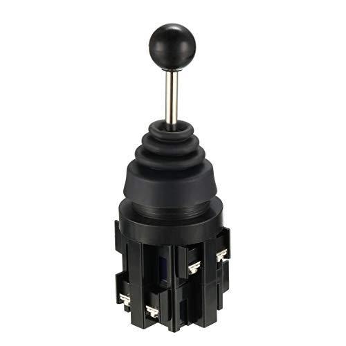 Joystick - Conmutador de 4 posiciones, 4 NO, tipo AC, 380 V, 10 A, 30 mm, panel Mount