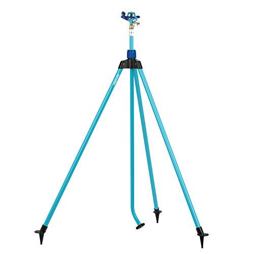 Aqua Joe AJ-IST72ZM Indestructible Series Zinc Impulse Sprinkler,...