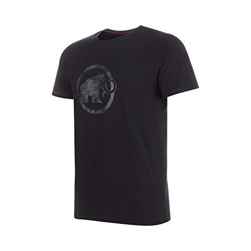 Mammut Herren T-shirt Mammut Logo, schwarz, M